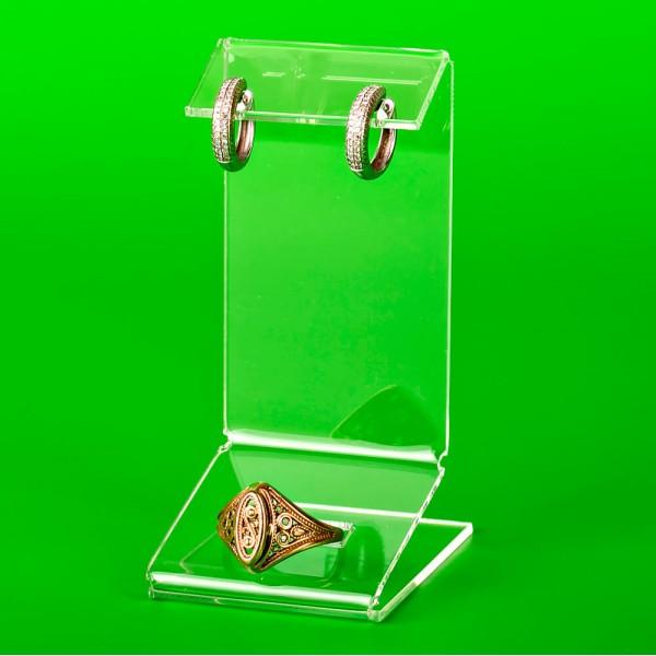 Подставка на 1 комплект серьги с кольцом
