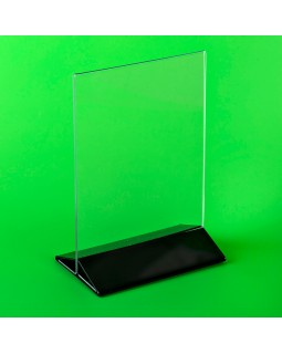 Подставка под меню А5 (ШхВ) 210х150 мм. с цветным низом