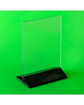 Подставка под меню А6 (ШхВ) 105х150 мм. с цветным низом