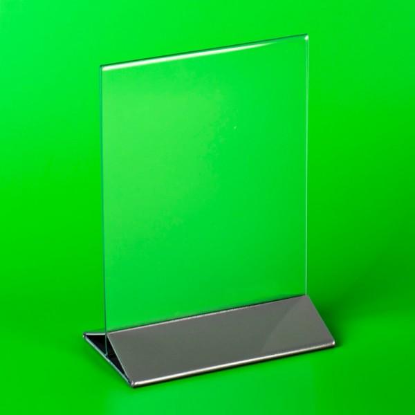 Подставка под меню А4 210х300 с цветным низом