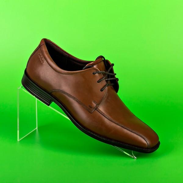 Подставка из оргстекла для обуви, наклонная