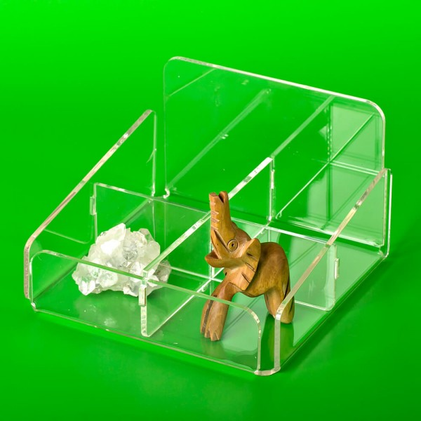 Коробка-разделитель четырехсекционная
