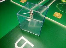 ящик для пожертвований с ключом